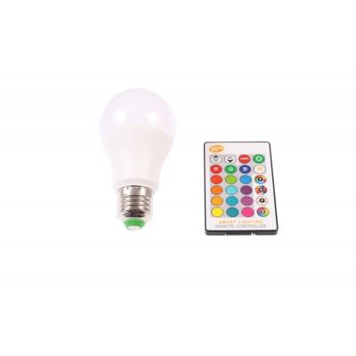 LED žárovka RGBW 5W E27