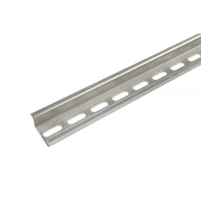 DIN lišta TS15, 1000x15x5 mm