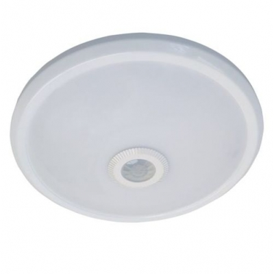 LED stropní svítidlo MANA 16W IP54 s PIR čidlem