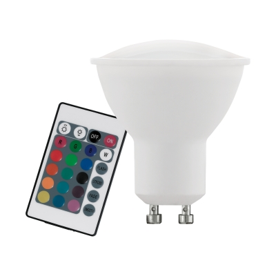 LED žárovka GU10 RGBW dálkové ovládání