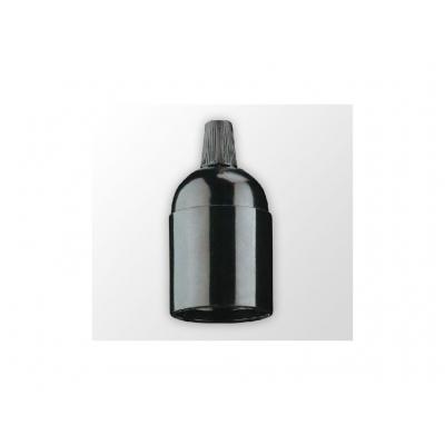 Plastová objímka patice E27 bílá nebo černá