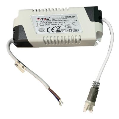 Stmívatelný zdroj V-TAC 12W pro LED panely