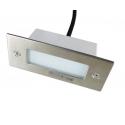 LED vestavné svítidlo obdélník 0.6W 240V denní bílá