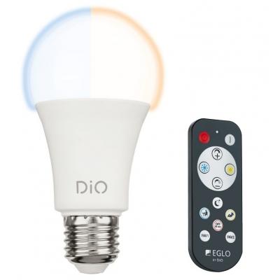 LED žárovka DiO CCT 9W A60 E27 s ovladačem EGLO