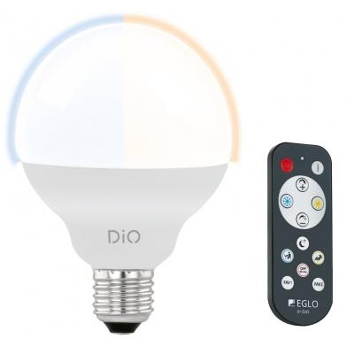 LED žárovka DiO CCT 12W G95 E27 s ovladačem EGLO