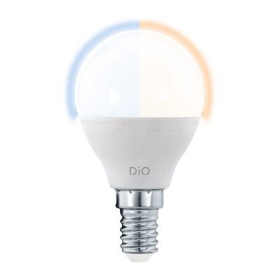 LED žárovka DiO CCT 5W P45 E14 EGLO