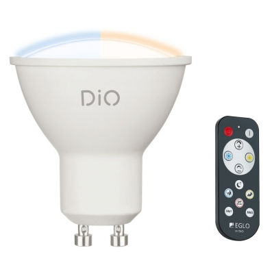 LED žárovka DiO CCT 5W GU10 s ovladačem EGLO