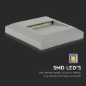 LED schodišťové svítidlo V-TAC 2W 230V