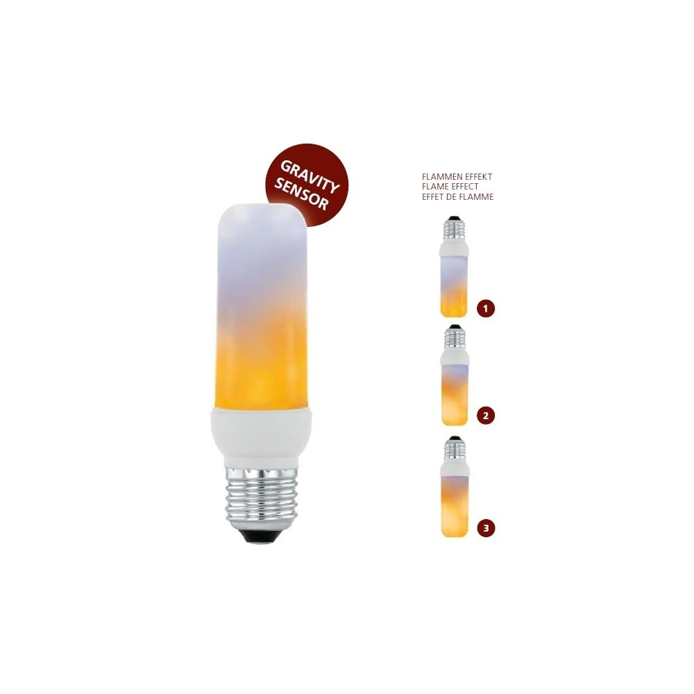 Efekt ohně žárovka 3W T40 E27 EGLO