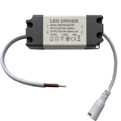 Proudový LED driver LOTUS 18-24W 300mA