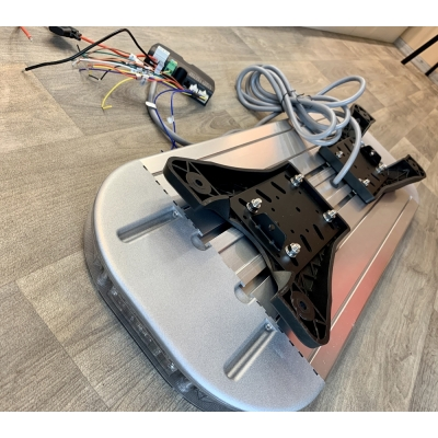 LED maják/rampa 852mm, oranžová, 12-24V, homologace ECE R65