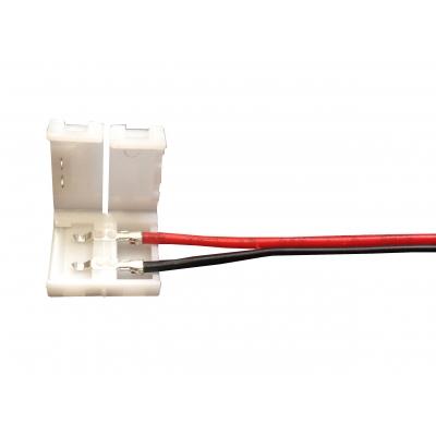 Přípojka 16cm pro LED pásek 8mm 1 barva