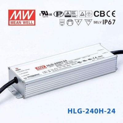 Napájecí zdroj Mean Well 240W 24V HLG-240H-24