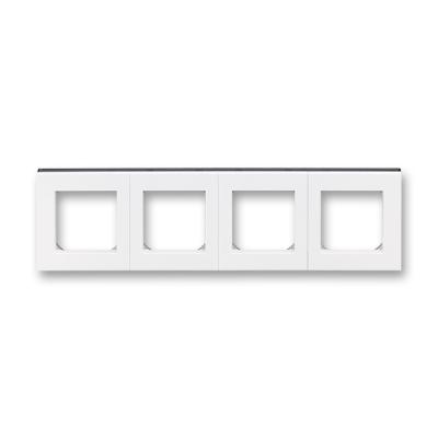 LEVIT bílá / kouřová černá, 3901H-A05040 62