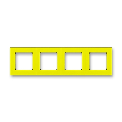 LEVIT žlutá / kouřová černá, 3901H-A05040 64