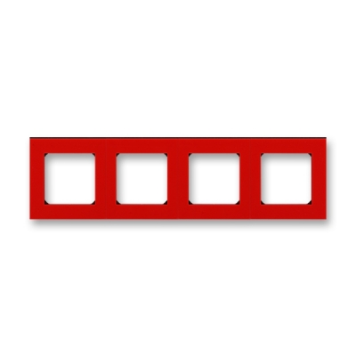 LEVIT červená / kouřová černá, 3901H-A05040 65
