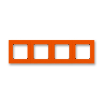 LEVIT oranžová / kouřová černá, 3901H-A05040 66