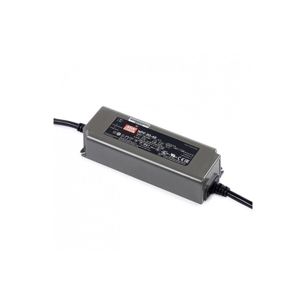 LED zdroj voděodolný Mean Well NPF-60-12