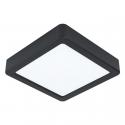 Hranaté stropní svítidlo 10,5W FUEVA 5 EGLO černá