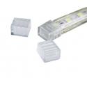 Krytka/konec LED pásku RGB 230V