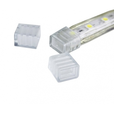 Krytka/konec LED pásku RGB 10W 230V