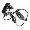 Napájecí zdroj pro LED 24W 12V s vypínačem