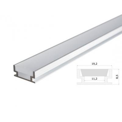 Obkladový hliníkový LED profil