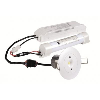 Nouzové LED svítidlo Starlet White 3W SC M/NM MT