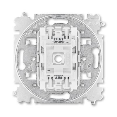 Přístroj ovládače zapínacího se svorkou N, řazení 1/0, 1/0So, 1/0S
