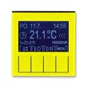 LEVIT žlutá/kouřová černá 292H-A10301 64
