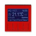 LEVIT červená/kouřová černá 292H-A10301 65