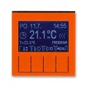 LEVIT oranžová/kouřová černá 292H-A10301 66