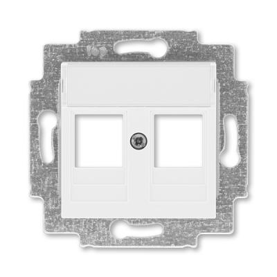 Kryt 2x zásuvky komunikační LEVIT