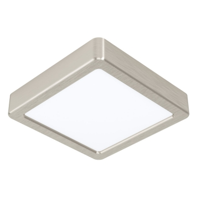 Hranaté stropní svítidlo 10,5W FUEVA 5 EGLO stříbrná