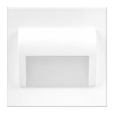 LED schodišťové svítidlo DECORUS 1,2W 12V bílá