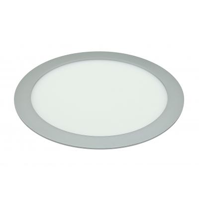LED Lotus 18W stříbrné