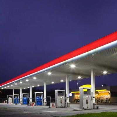 LED svítidlo 150W CANOPY pro benzinové stanice