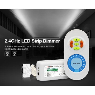 MiLight RF Touch profi 2,4GHz sada stmívač pro jednobarevné LED pásky