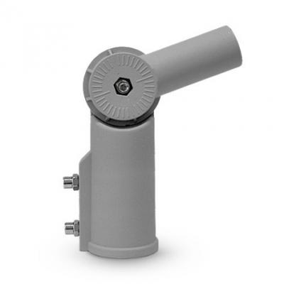 Polohovatelný držák pouličního osvětlení šedý