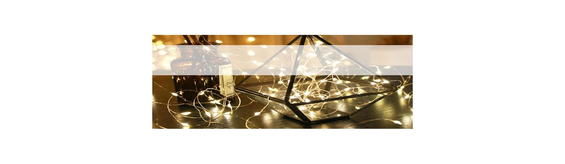 Osvětlení pro vánoční stromečky, vánoční výzdoba