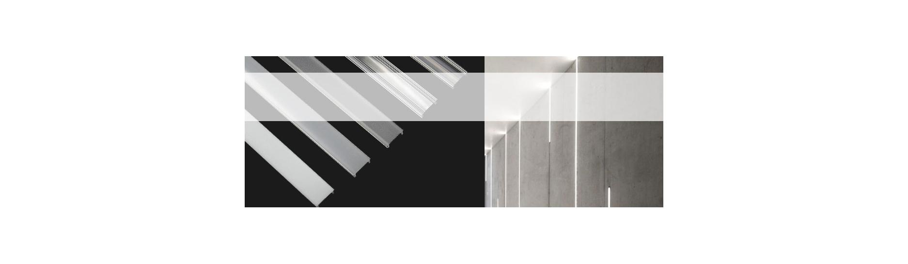 Difuzory pro hliníkové alu profily