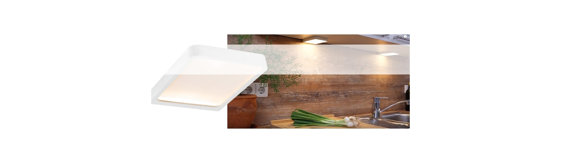 LED podlinková svítidla pro Vaše kuchyně.