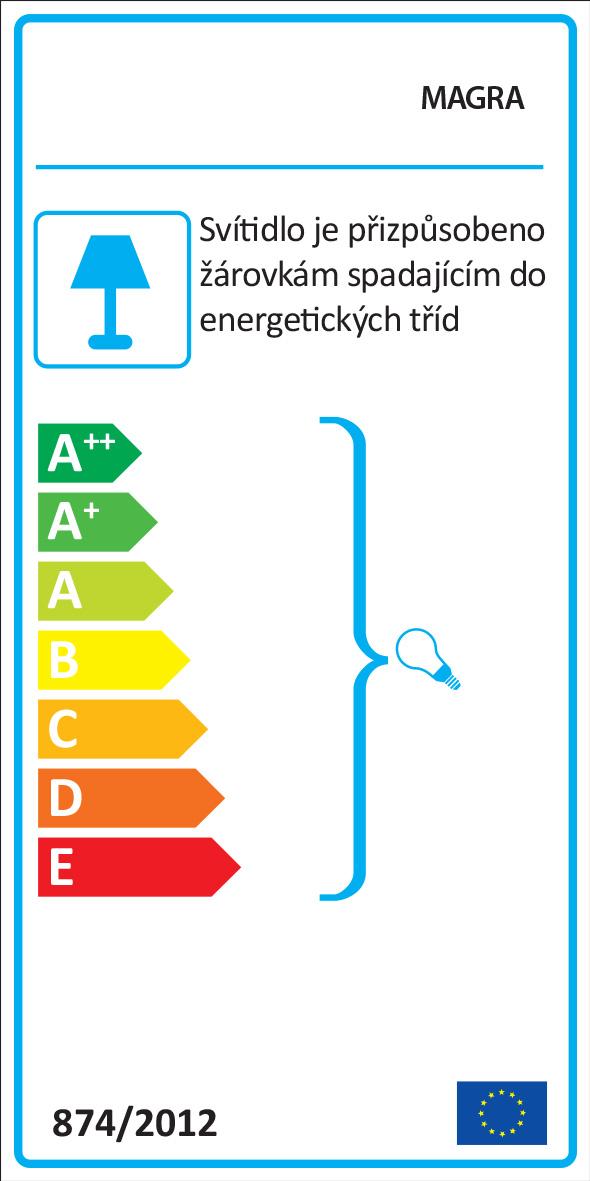Energetický štítek svítidla Magra