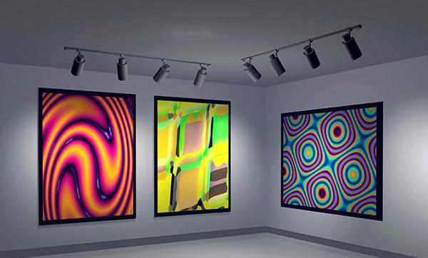 Vysoké CRI, galerie, barvy, obchody